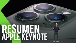 NUEVOS IPHONE 11, Apple WATCH 5, IPAD, Apple TV+ y más | Resumen Keynote Apple 2019