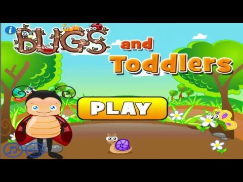 Video of Toddler Games Age 2: Bugs