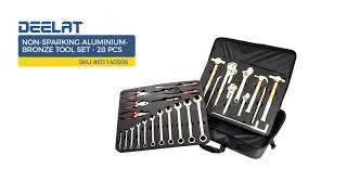 Non-sparking Aluminium-Bronze Tool Set-28 pcs