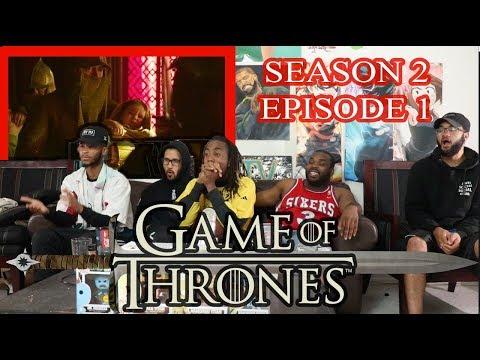 Game of Thrones Season 2 Episode 1 Review/Reaction