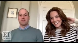 Prince William And Kate Middleton Talk Home-Schooling During Isolation