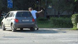 Драка на дороге, Саяногорск