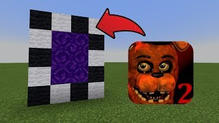 How To Make a Portal to the Five Nights At Freddy