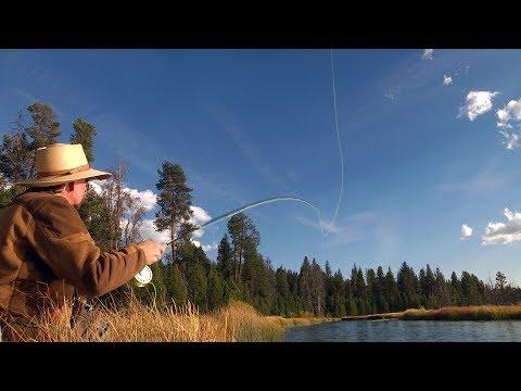 Fly Fishing Yamsi - Oregon Spring Creek