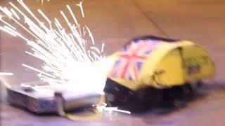 RC Combat Robot Wars - Wedgie v Night Fury v Galactus - 2014 UK Fighting Robots FW Champs Q7 #6