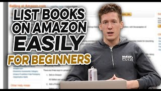 How to list books on amazon easily for beginners