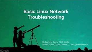 Basic Linux Network Troubleshooting