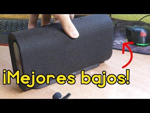 El altavoz bluetooth con MEJORES BAJOS por poco dinero - AUKEY