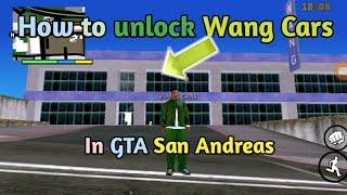 How to unlock Wang Cars in GTA San Andreas