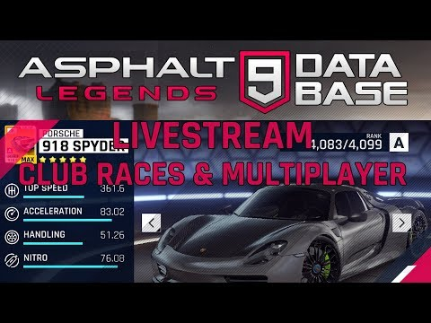Livestream Multiplayer & Clubraces mit UERK 5pm (gmt + 2)