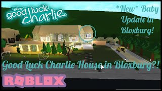 The Good Luck Charlie House in Bloxburg [New baby UPDATE in Bloxburg]