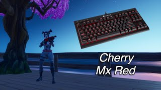 Corsair K63  Cherry Mx Red  + New Peekaboo Skin Variant  Gameplay  - Lofi  - Fortnite Battle Royale