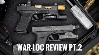 Weapons Armament Research WAR-LOC Review Pt.2 | Glock 19 compensator