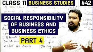 #42, Business ethics (elements of business ethics)