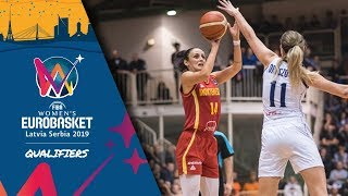 LIVE 🔴 - Slovakia v Montenegro - FIBA Women's EuroBasket 2019 - Qualifiers 2019
