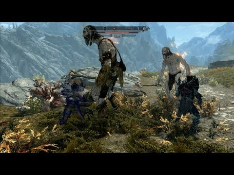 Skyrim Mods - Dremora Lord Follower - PS4 - смотреть онлайн на Hah Life