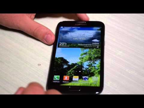 Foto Samsung Galaxy Note 2 Android 4.4.2 Kit Kat ufficiale