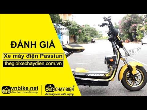 Đánh giá xe máy điện Passiun