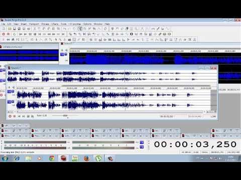 Como usar o workspace parte 2 - Sound Forge (Locutor Kiko)