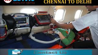 Get Matchless ICU Life Support Air Ambulance from Bhopal to Delhi Anytime