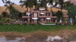 Sims 3 - Traditionally Modern Egyptian Mansion 1080p - new version