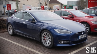 Tesla Model S P100D - 2.39s to 60mph with LUDICROUS PLUS!