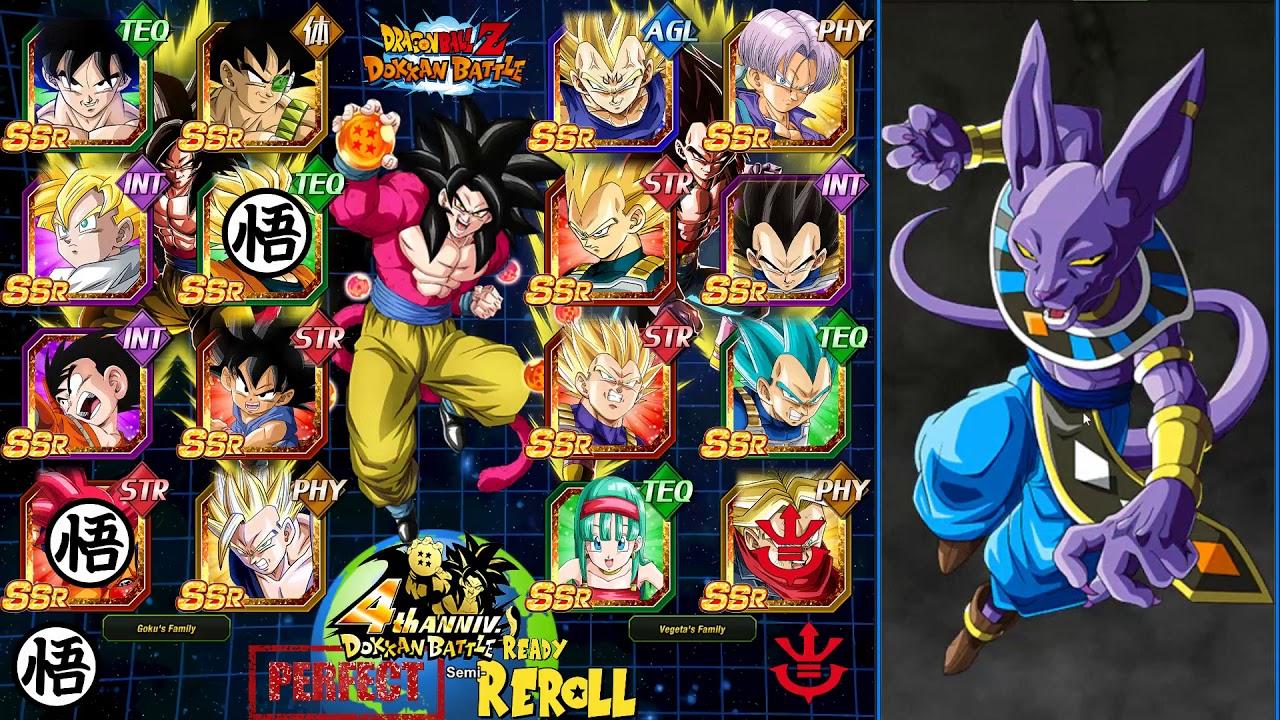 4 Year READY Account? 3000 Stone Summons | Dragon Ball Z Dokkan Battle  Global - vTomb