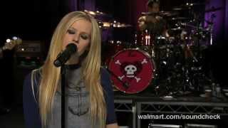 Avril Lavigne - When You're Gone @ Live at Walmart Soundcheck 20/04/2007