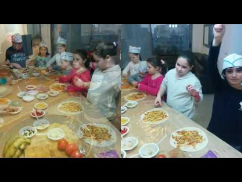 הפעלות אוכל לילדים