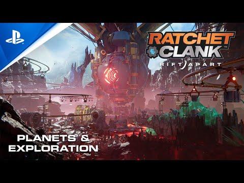 présente ses planètes de Ratchet & Clank : Rift Apart