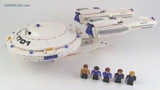 KRE-O Star Trek Enterprise ship construction set review!