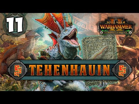 THE POWER OF LORD KROAK! Total War: Warhammer 2 - Lizardmen Campaign - Tehenhauin #11