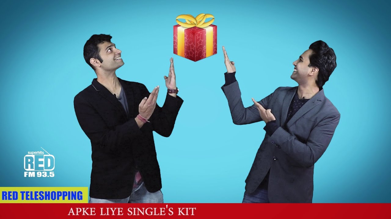Valentine day Single's  Kit | Red Teleshopping