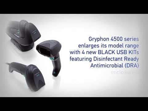 did_you_know? | New Datalogic GRYPHON™ 4500 black DRA models