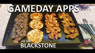 Game Day Appetizers on the Blackstone | COOKING WITH BIG CAT 305