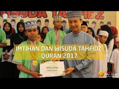 Wisuda Tahfidz Quran 2017 Pesantren Al Hilal Cililin