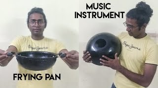 #Tank Drum/Tongue drum  made from Frying Pan (it sounds awesome)