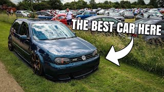 There Were SO MANY Mk4 Golfs At This Event!