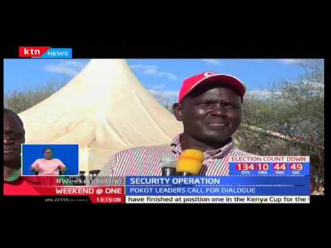 Pokot leaders have asked the government to use dialogue to help restore peace and stability