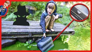 PLANTING SECRET HIDDEN TRACKING DEVICE IN DECOY SAFE (Spy Gadgets in Real Life)