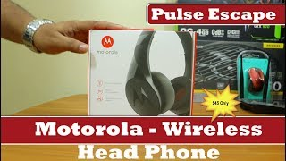 Motorola Pulse Escape Wireless - Headphones with Mic | 2018 | Review