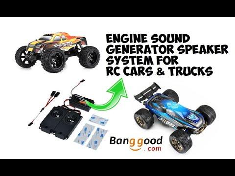 Engine Sound Generator Speaker System For RC Cars & Trucks
