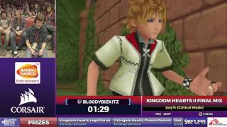 Kingdom Hearts II Final Mix by Bl00dyBizkitz in 3:02:00 - SGDQ2017 - Part 120