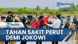 Cerita Saleh Tahan Sakit Perut demi Menanam Mangrove Bersama Presiden Jokowi, Akui Sangat Bangga