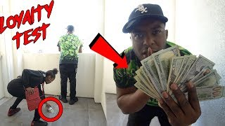 DROPPING $1000 IN CASH IN FRONT OF MY FAMILY * Part 3 *     Loyalty Test