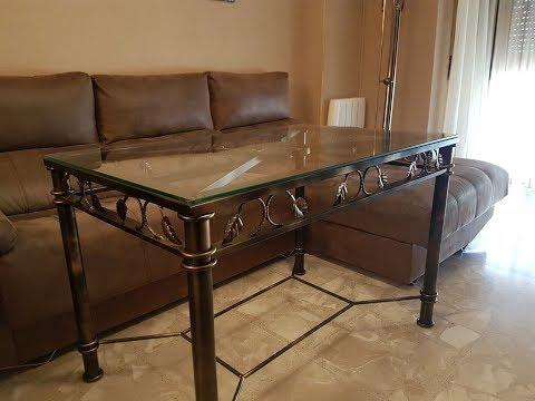 Como hacer una mesa de forja.