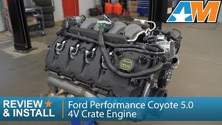 2015-2017 Mustang (GT) Ford Performance Coyote 5.0 4V 435 HP Crate Engine Review