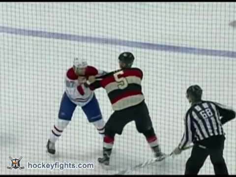 Brian Lee vs. Max Pacioretty