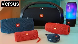JBL Speaker Line Up Explained- JBL Boombox vs Xtreme 2 vs Pulse 3 vs Charge 3 vs Flip 4 vs Clip 3