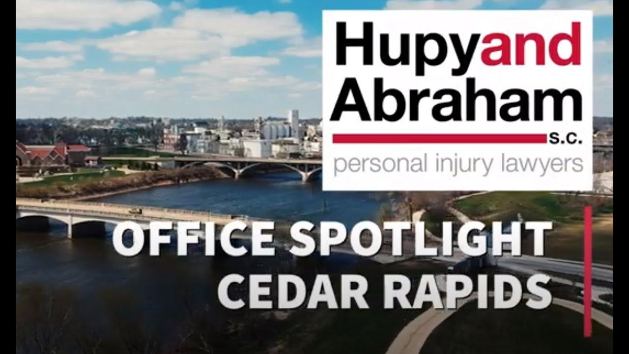 Hupy and Abraham, S.C. Office Spotlight - Cedar Rapids